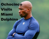 WR Ochocino Works out with Miami Dolphins