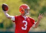 Browns Name Weeden as Starter