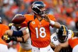 Peyton gets 400th TD pass as the Broncos beat the Steelers