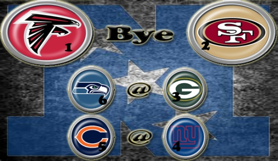 NFL Week 14 Playoff picture - NFC