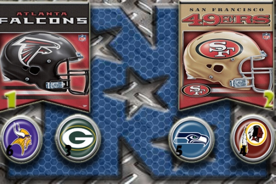 NFL Week 15 Playoff picture - NFC