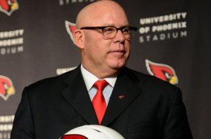 NFL: Arizona Cardinals-Bruce Arians Press Conference