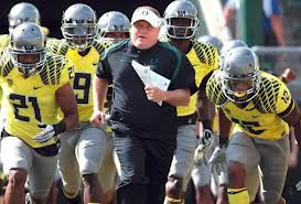 Chip Kelly went 46-7 overall as the Head Coach of the Oregon Ducks