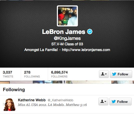 Lebron-James-Katherine-Webb