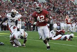 Lacy was a key player for Alabama for two seasons