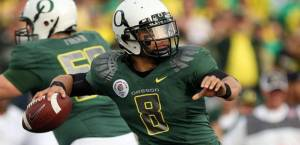 Masoli is a prime example of a college player who had potential, he just didn't smarten up in the off season, resulting in getting kicked off the Oregon Ducks in 2010.